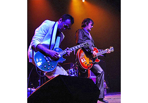 Kevin Bowe with Paul Westerberg